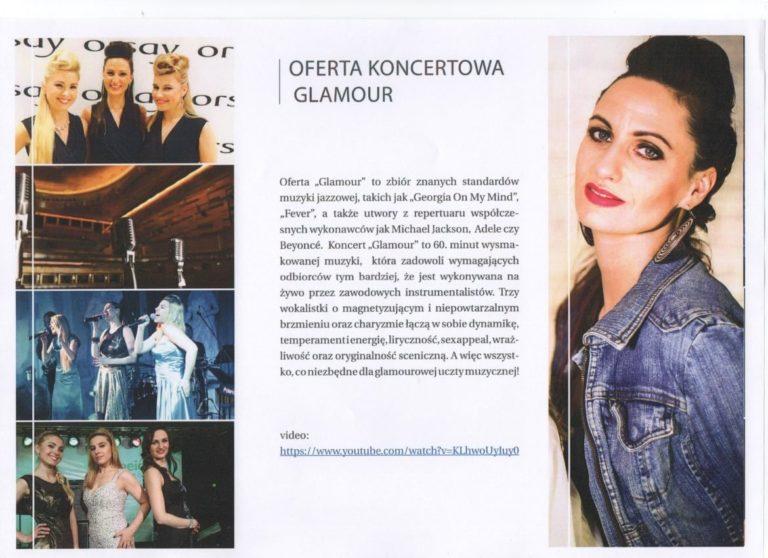 Girls on Fire oferta koncertowa Glamour