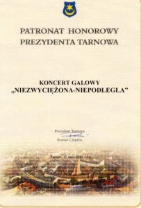 Patronat Honorowy Prezydenta Miasta Tarnów